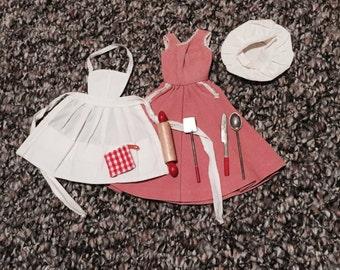 Vintage Barbie - Q Outfit