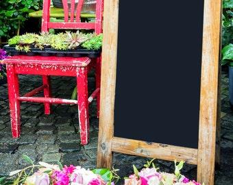 Wedding Sign - Wedding Chalkboard - Chalkboard Sign - Restaurant Sign - Business Sign - Personalized Sign -  A-Frame Chalk Board Sign