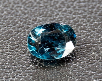 Natural Greenish-Blue Spinel, Oval Mixed Cut, 0.77ct