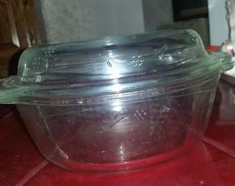 Vintage Pfaltzgraff Serving Bowl With Lid