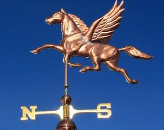 Copper Pegasus Weathervane BH-WS-406