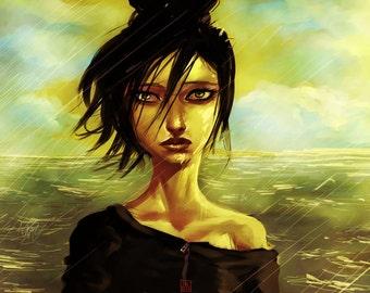 Ophelia - Illustration by Jeik Dion