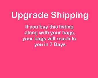Upgrade shipping For Apron