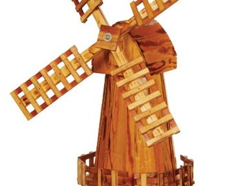 Wooden Windmill (Medium)