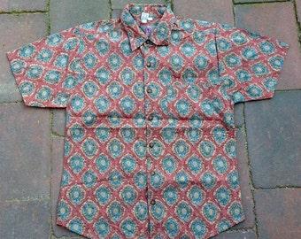 SALE - MENS   Vintage hipster shirt   Size L - SALE