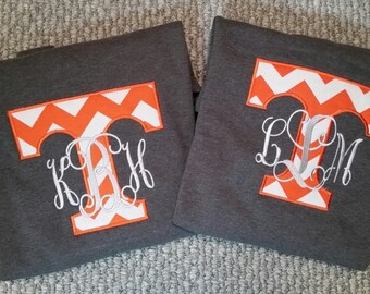 Appliqued sweatshirt, Tennessee sweatshirt, game day wear, Graduation gifts, gifts for her, embroidered sweatshirt, ladies sweatshirts