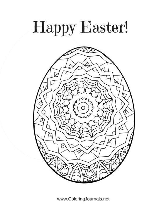 Images for easter egg mandala coloring page desktophddesignwall3dga