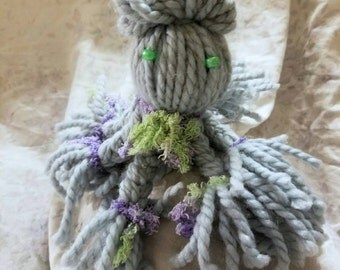 Lovely yarn octopus plushie!