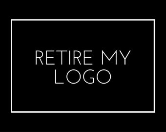 Retire My Premade Logo Design