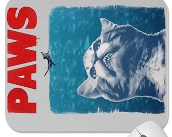 Paws mouse pad custom design hot news free shipping