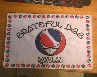 Gateful Dog Custom Dog Bowl Mat