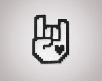 8-Bit Rock Patch