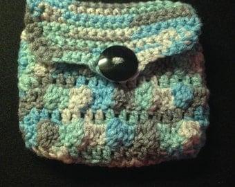 Small Crochet Purse / Coin Purse