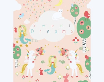 A4 'Sweet Dreams' art print