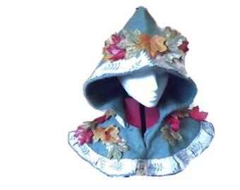 Leaf Hood - basic LARP costume