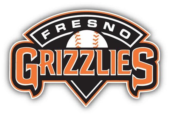Fresno Grizzlies MiLB Baseball Slogan Logo Car Bumper by ...
