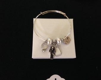 Bride Charm Bracelet