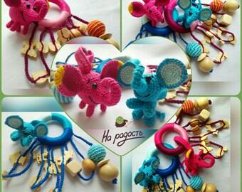 Teething toy Elephant
