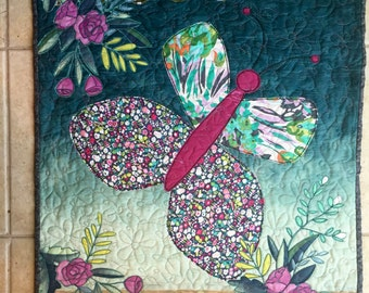 New Life art quilt pattern/butterfly quilt pattern