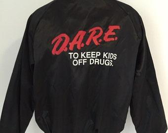 Vintage D.A.R.E. Zip Up Jacket L
