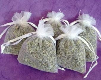 Organic lavender sachets pack of 5