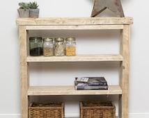 Efla Handmade Reclaimed Wood Shelves. Custom Made to Order.