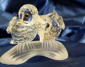 Swarvoski Crystal Love Birds