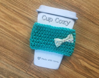 Cup Cozy, Crochet Cozy, Coffee Cozy