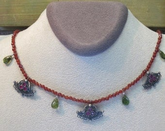 Of the anatolian style handmade necklace