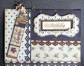 Handmade Birthday Card #119