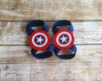Captain America Barefoot Sandals/Baby Barefoot Sandals/Baby Boy Shoes/Baby Sandals/Baby Boy Sandal/Newborn Sandal/Newborn Shoe/Baby Boy/Baby
