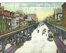 Two New York City postcards from 1910s