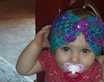 Toddler Multicolored Ear Warmer