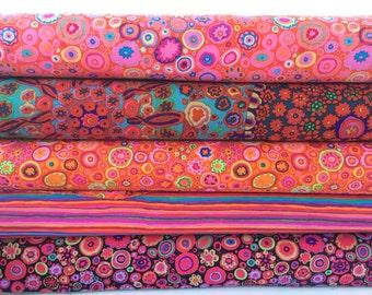 Bundle of Kaffe Fassett Fabrics 5 fabrics