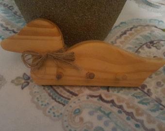 Wooden key hooks