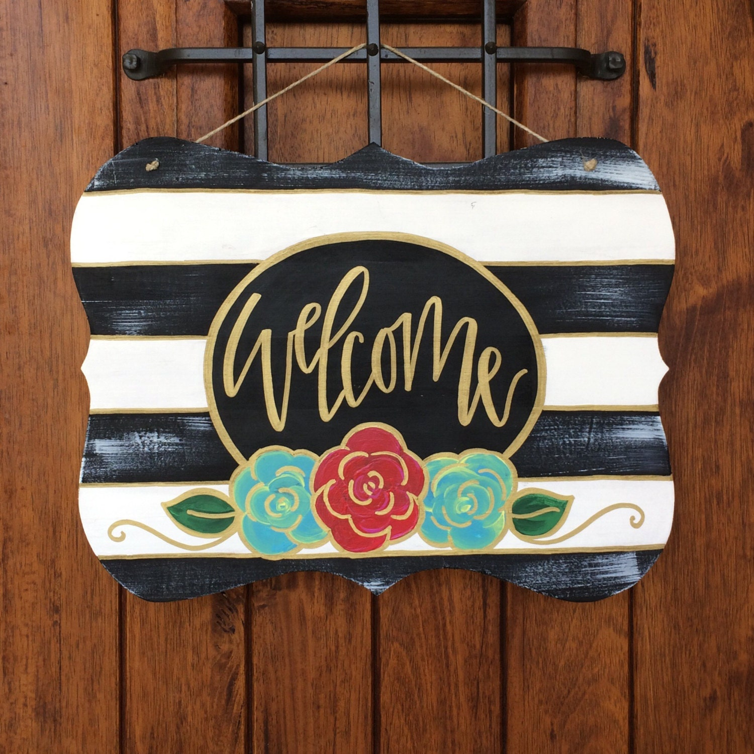 Painting Door Hanger Ideas
