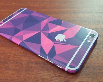 iphone 6 skin triangles