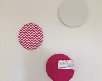 Set of 3 message/ pinboard
