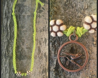 Kids hemp necklace