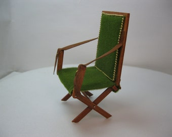 Items Similar To Rare British Campaign Chair 1930s 40s