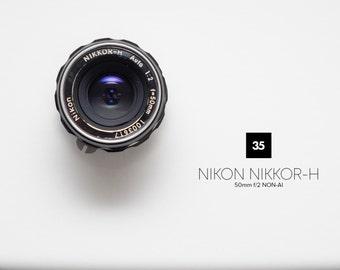 Nikon Nikkor-H Auto 50mm f/2 Non-AI