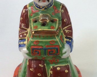 Occupied Japan Ceramic Incense Burner