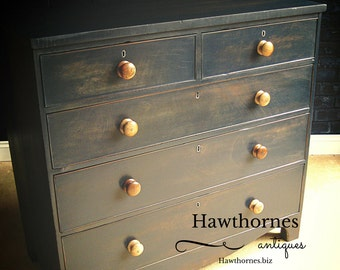 Early 1800's Painted Chest of Drawers