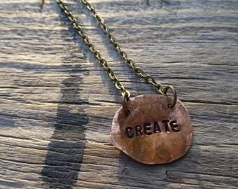 Create Copper Necklace