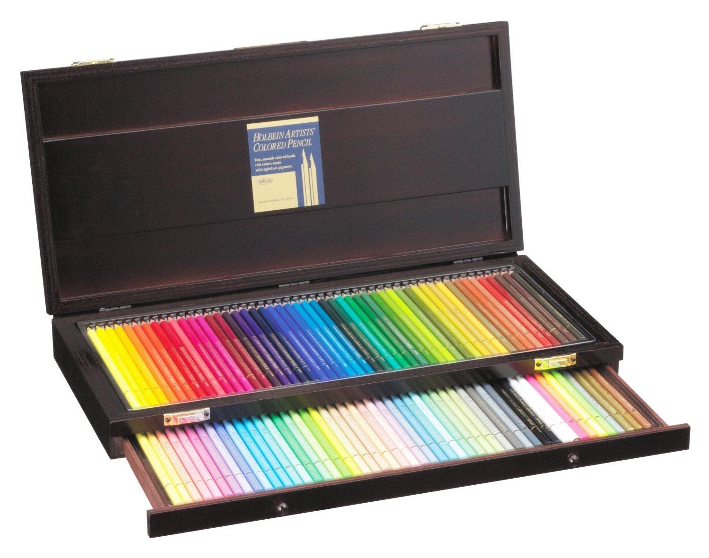 Value Set Holbein Artist Colored Pencil 100 Color Set For