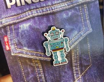 Robot #findthu Pin