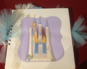 Cinderella scrapbook album