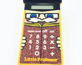 Little professor game, 1985, Texas instruments, 80s learning toy, 1985, rare!