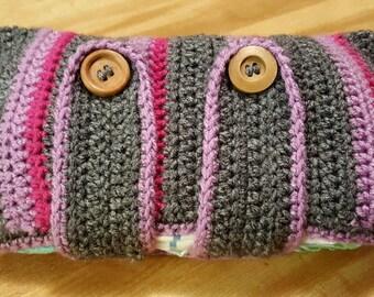 Crochet diaper pouch/bag