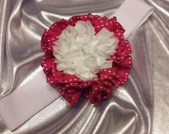 Girls Strawberry Shortcake Hot Pink and White Headband